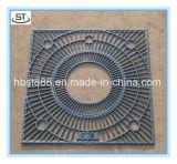 O MERGULHO quente profissional de padrão europeu galvanizou a tampa Grating de aço da vala