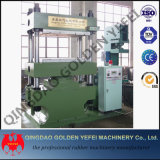 4 automatische Duplexgummivulkanisierenständerpresse/hydraulische vulkanisierenpresse mit Cer ISO 9001