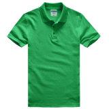 Coton lourd avec le T-shirt fait sur commande de polo d'hommes de mode de Spandex
