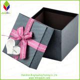Bowknot를 가진 선전용 서류상 선물 시계 포장 상자