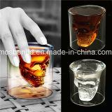 ウィスキーGlassかDoomed Crystal Skull Shot Glass/Crystal Skull Head Vodka Shot Wine Glass Novelty Cup