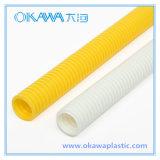 Tubo acanalado del conducto del PVC de Okawa