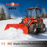 CE 1.5ton aprovado mini Hoflader de Everun da alta qualidade