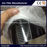 Высокая лоснистая автоматическая пленка винила обруча автомобиля волокна углерода 5D