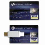 선물 USB 신용 카드 USB 섬광 드라이브