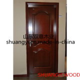Portes arrondies en bois intérieures économiques de MDF/PVC