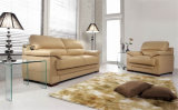 Italien-ledernes Sofa für das Wohnzimmer verwendet