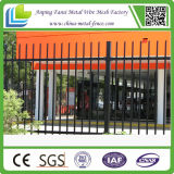 Au Market를 위한 분말 Coated Spear Top Tubular Steel Fence Panels