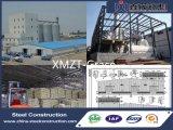 Planta pré-fabricada do moinho de alimentação da construção de aço do baixo custo