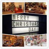 O festival do Natal decora a caixa leve (PZ-A4)