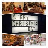 Festival de Natal Decoração Light Box (PZ-A4)