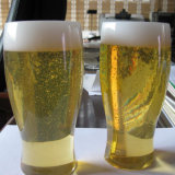 Visualizzazione libera su ordinazione della bottiglia da birra della resina LED del poliestere