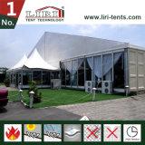 los 30X40m tienda de la boda de la pared de cristal de 1000 personas para el partido de lujo del acontecimiento de la boda