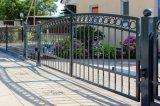 Puertas hechas a mano antisépticas a prueba de herrumbre del hierro labrado con alta calidad