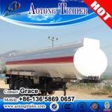 36000 litres d'essence de pétrole brut de camion citerne de remorque semi, remorque de réservoir d'eau de Tri-Essieu pour l'entraîneur/la remorque réservoir de carburant