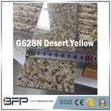 Mattonelle di pavimento di pietra naturali di G682n del deserto del granito giallo di colore giallo