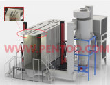 Polvere Coating Booth in Powder Coating Line con ISO9001