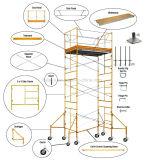 Kundenspezifisches Fabrik-Preisstabilität-Strichleiter-Baugerüst