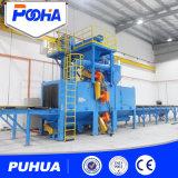 Machine de grenaillage de plaque en acier pour la structure métallique