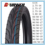 Neumáticos sin tubo de la motocicleta 60/80-17 70/80-17 80/80-17 90/80-17