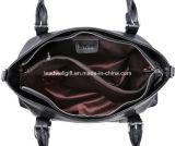 Bolsas de couro do Satchel do saco de ombro das mulheres e Tote clássico do projeto da bolsa para senhoras