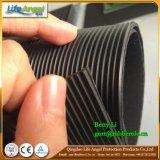 Feine Rippen-Gummiblatt-Naturkautschuk-Rolle gebildet im China-Farben-industriellen Gummiblatt