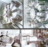 자동 귀환 제어 장치 힘 포탑 (CK6440)를 가진 기울어지는 가이드 레일 기울기 침대 CNC 선반