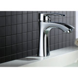 Taraud et robinet d'eau montés par paquet en laiton sanitaire de mélangeur de bassin de salle de bains