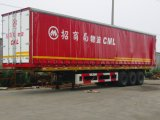 Curtain Side Van Semi Trailer