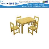 Móveis pré-escolares de madeira amigáveis ao meio ambiente (HC-2401-1C)