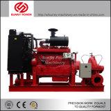 Alta presión de la bomba de agua del motor diesel para la lucha contra el fuego