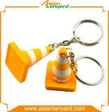 Abnehmer-Entwurfs-Pinguin-Firmenzeichen Kurbelgehäuse-Belüftung Keychain
