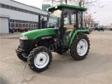 Front Loader와 Backhoe를 가진 50HP Farming Tractor