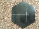 Чернота с каботажными судн белых прокладок мраморный/каботажными судн питья камня