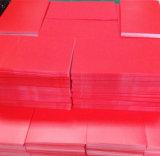 folha dos PP do rolo de 0.1-2.0mm x de 1.2m X, película dos PP com etc. desobstruído, preto, vermelho, azul, cinzento, amarelo