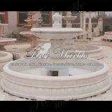 Fontana bianca Mf-743 di Carrara della fontana di pietra di marmo del granito