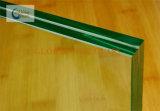 Vidro laminado com vidro de teste padrão desobstruído da água de 3mm + 0.76m PVB + vidro de flutuador do espaço livre de 3mm