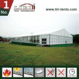 500の容量の屋外アルミニウム明確なスパンの結婚披露宴のテント