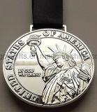 Medalla de plata Donald Trump medallón (NO UNA MONEDA)