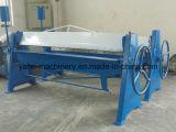 maquinaria de dobra manual da folha do alumínio de 2mm