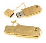 高容量の金金属USBのフラッシュ駆動機構
