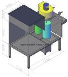 Cabine de pulverização pequena do revestimento do pó do sistema da recuperação