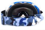 Occhiali di protezione UV della mascherina di Eyewear di sicurezza di protezione del PC dello Snowboard doppio dell'obiettivo