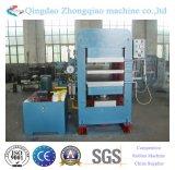 Borracha automática que cura a máquina da imprensa