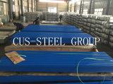 El panel de acero del material para techos anti de la condensación/hoja coloreada del hierro acanalado