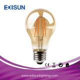 La mejor luz de bulbo del precio A60 7W E27 6PCS Filamnet LED