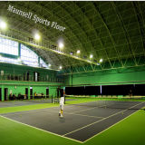 Étage chaud de sport de tennis de PVC de la vente 2017