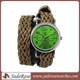 Вахта полосы Weave wristwatch женщины способа (RA1161)