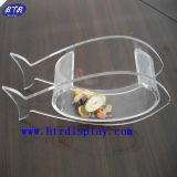Bacia de peixe de plástico acrílico claro (BTR-S2086)