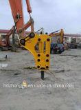 Recambios del triturador hidráulico de GB220e, cincel del martillo de la roca